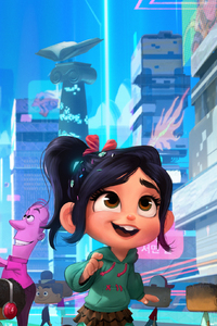 360x640 Wreck It Ralph 2 2018 Movie 4k