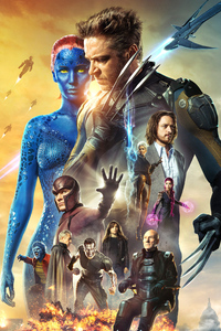 1080x2280 X Men Days Of Future Past Movie Poster