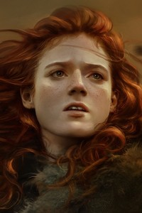 1080x1920 Ygritte Rose Leslie Game Of Thrones Artwork