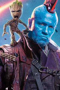 Yondu And Baby Groot
