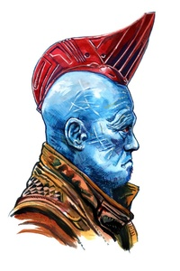 240x320 Yondu Guardians Of The Galaxy Minimalism