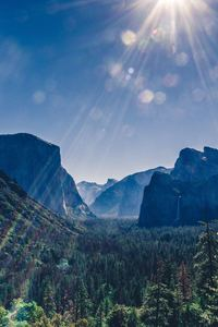 480x854 Yosemite Valley Landsacpe 5k